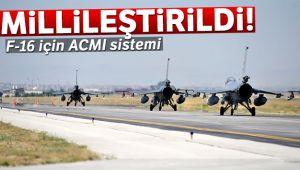 Türk savunma sanayiinden F-16 için ACMI sistemi