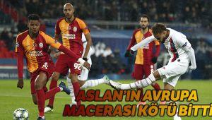 PSG Galatasaray kaç kaç bitti?