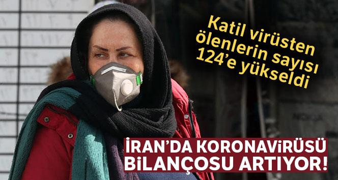 İran'da korona virüsünden ölenlerin sayısı 124'e yükseldi