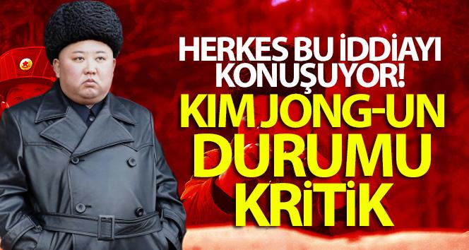 Herkes bu iddiayı konuşuyor! Kuzey Kore lideri Kim Jong-un durumu kritik