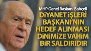 MHP Genel Başkanı Bahçeli: 'İslamofobi faillerini uzaklarda aramaya hacet yoktur'