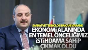 Bakan Varank: 'TSE ile birlikte sanayi tesislerinde alınması gereken önlemlerle ilgili kılavuz hazırladık'