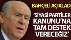 MHP Lideri Devlet Bahçeli: