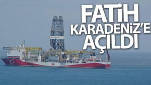 Fatih Sondaj Gemisi Karadeniz'e açıldı
