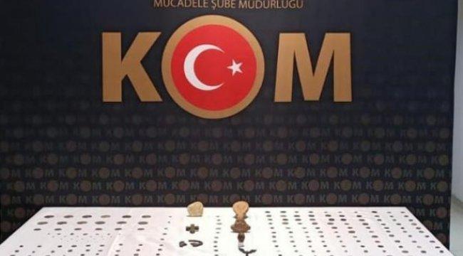 Tarihi eser kaçakçıları suçüstü yakalandı