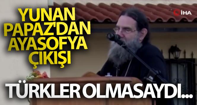Yunan Rahip Papanikolaou'dan Atina'da Ayasofya açıklaması