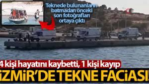 İzmir Foça'da tekne faciasında ölenlerin kimlikleri belli oldu