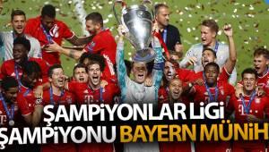 Şampiyonlar Ligi şampiyonu Bayern Münih!