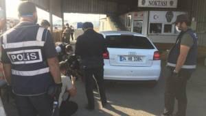 Emekli polisin aracından 61 kilo 750 gram eroin çıktı