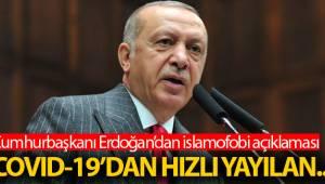 Cumhurbaşkanı Erdoğan önemli açıklamalarla bulundu