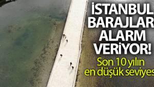 İstanbul barajlarındaki su kalitesi alarm veriyor