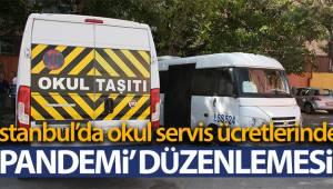 İstanbul'da okul servis ücretlerinde 'pandemi' düzenlemesi