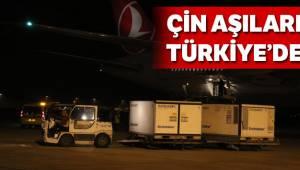 Çin aşıları Türkiye'de