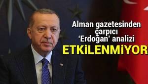 Recep Tayyip Erdoğan tehditlerden etkilenmiyor.