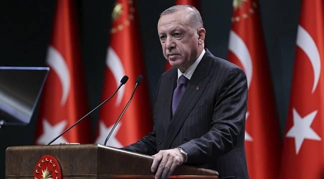 Başkan Erdoğan'dan Duyuru