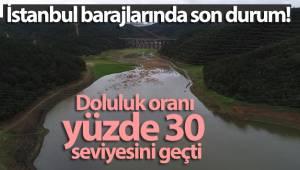 Kar yağışı İstanbul'a 10 günlük su kazandırdı