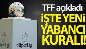 Nihat Özdemir: '14 yabancı sayısını 16'ya çıkarma kararı aldık'