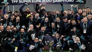 Süper Kupa Trabzonspor'un oldu