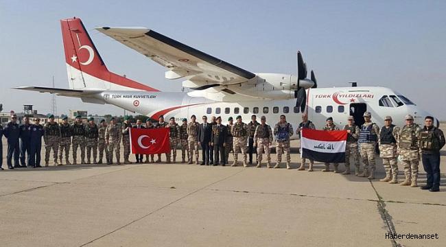 Türkiye'den Irak ordusuna destek