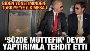 Türkiye'ye ilk mesaj