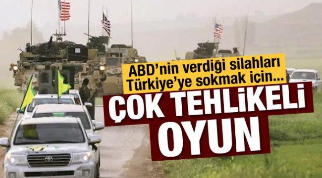 ABD'nin verdiği silahları Türkiye'ye sokmak isteniyor
