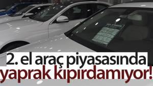 Edirne'de ikinci el araç piyasasında yaprak kıpırdamıyor