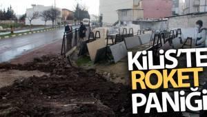 Kilis'te roket paniği