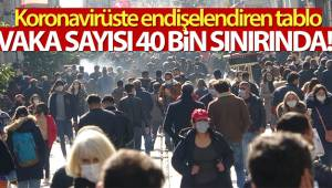 Türkiye'de son 24 saatte 39.302 koronavirüs vakası tespit edildi