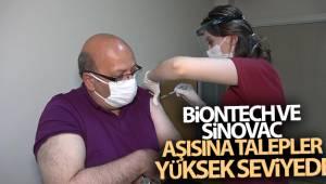 BioNTech ve Sinovac aşısına talepler yüksek seviyede