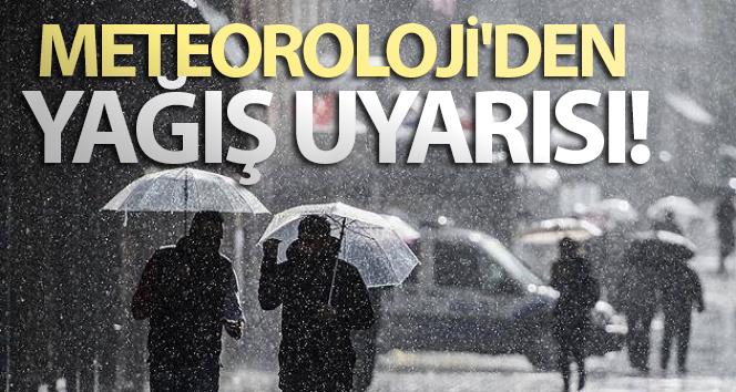 Meteoroloji'den yağış uyarısı- 24 Nisan yurtta hava durumu