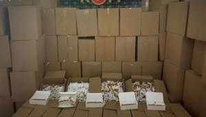 Adana 5,5 milyon gümrük kaçağı makaron ele geçirildi