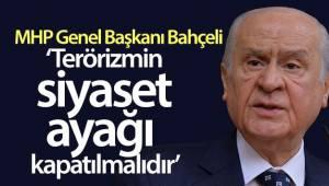 Bahçeli: 'HDP kapatılmalı, yöneticileri hakkında hukukun gereği yapılmalıdır'