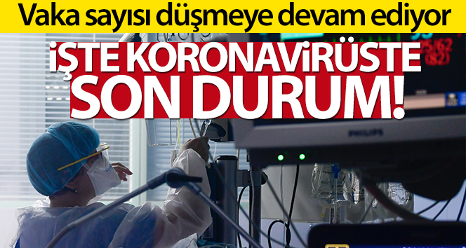Son 24 saatte korona virüsten 96 kişi hayatını kaybetti