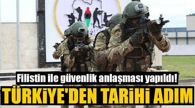 Türkiye ile Filistin arasında güvenlik anlaşması