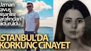 İstanbul'da korkunç cinayet: Uzman çavuş, nişanlısı tarafından öldürüldü