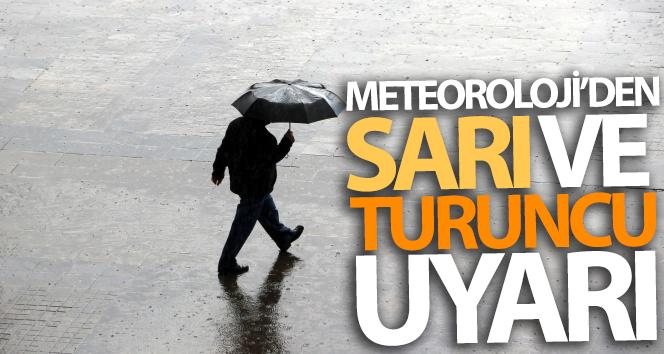 İstanbullular dikkat! Meteoroloji'den sarı ve turuncu uyarı