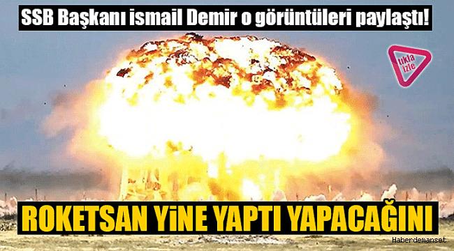 Roketsan uçak bombalarının etkinliği artırıldı