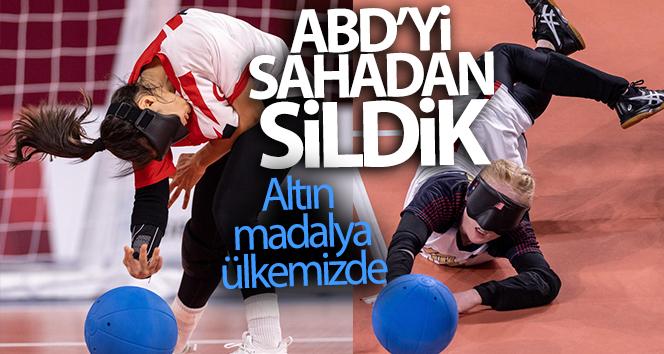 Goalball Kadın Milli Takımımızdan büyük başarı! Altın madalya ülkemizde